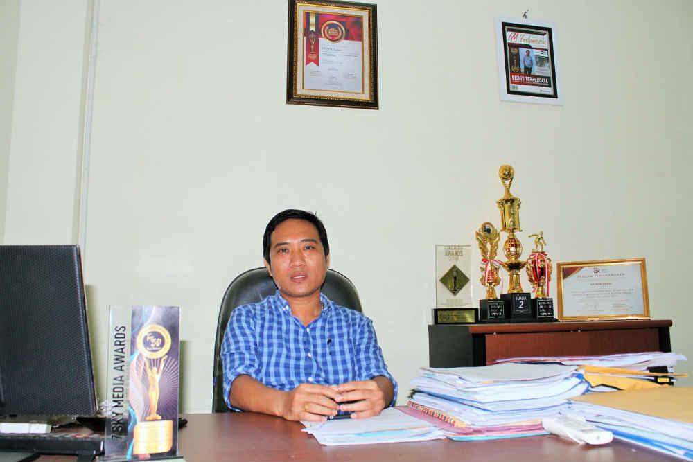 Direktur Utama PT. BPR Sunni Jayapura, Patrisius Randa SH.,MH