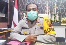 Kapolresta Jayapura Kota AKBP Gustav R. Urbinas, SH.,S.IK.,M.Pd