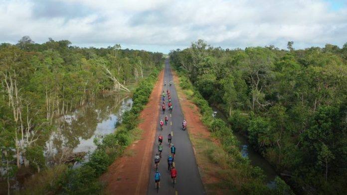 Keindahan hutan lindung di Taman Nasional Wasur