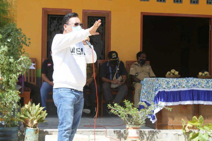Caption : Kepala Dinas Kesehatan Kabupaten Keerom dr.Ronny J.A. Situmorang