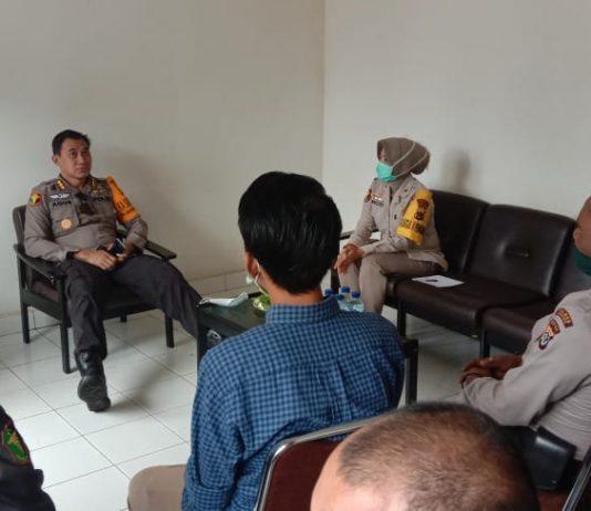 Kabid Dokkes Polda Papua Kombes Pol. Drg. Agustinus Mulyono Hardi saat melakukan Monev di Poliklinik Polres Merauke, Senin (27/7/2020).
