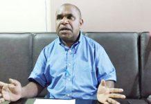Anggota DPR Papua Tarius Mul, S.Sos