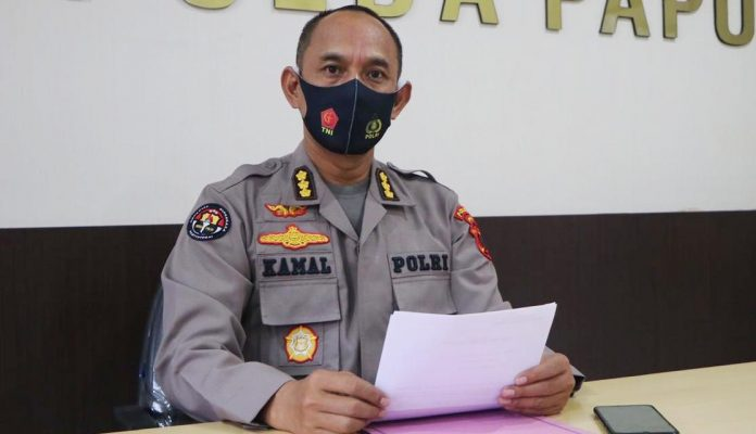 Kabid Humas Polda Papua Kombes Pol. Drs. Ahmad Musthofa Kamal SH