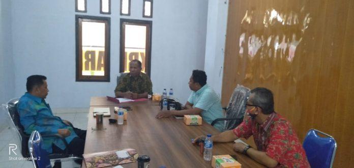 Suasana Rapat Konsolidasi Organisasi FKUB Kabupaten Jayapura