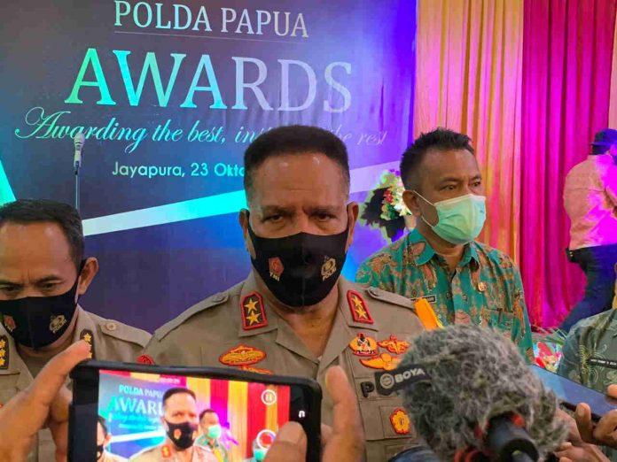 Kapolda Papua, Irjen Paulus Waterpauw