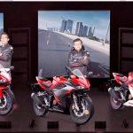 Region Head Astra Motor Papua, Wendy Tenario bersama top manajemen Astra Motor Papua saat memperkenalkan Al New CBR150RR secara virtual, Sabtu (20/02/21) malam
