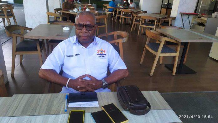 Plt Ketua KADIN Provinsi Papua, Franklin O.Demena