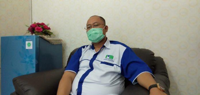 Direktur Utama PDAM Jayapura, Entis Sutisna